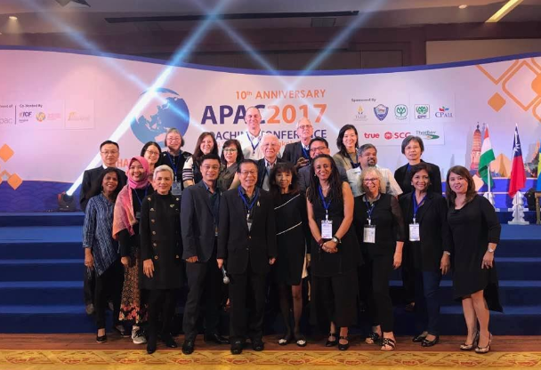 In photo: Executive Commmittee and Country Ambassadors of the Asia Pacific Alliance of Coaches led by APAC President Julius Ordoñez (front row, 4 th from left), Philippines' Master Certified Coach