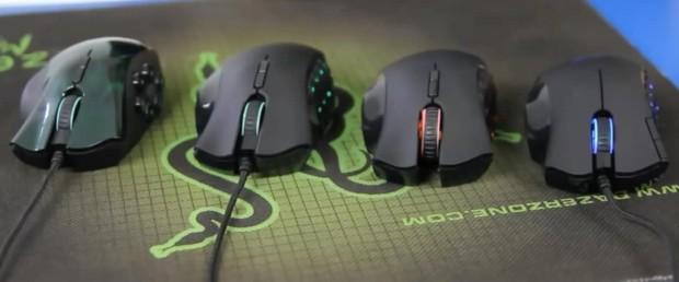 The pro gaming mice, Razr, take full advantage of IR tech. Source: https://upload.wikimedia.org/wikipedia/commons/f/f9/Collection_of_Razer_Nagas.jpg