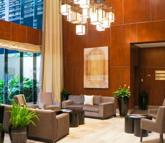 Sonata Private Residences Lobby
